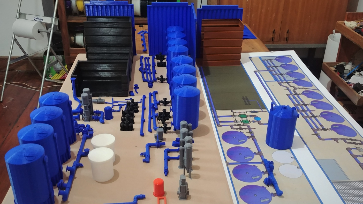 Water Purification Plant Model